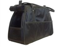 Petote Charlie Black Dog Bag