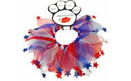 Star Patriotic Dog Smoocher