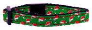Santa Hat Dog Collar