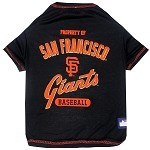 San Francisco Giants Baseball Dog Shirt
