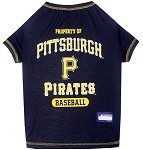 Pittsburgh Pirates Baseball Dog Shirt