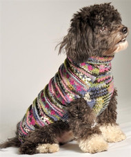 WoodStock Dog Sweater- Purple