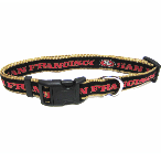 San Francisco 49ers Dog Collar