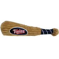 Minnesota Twins Plush Dog Bat Toy