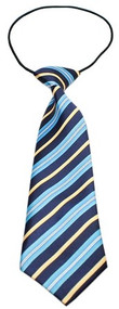 Big Dog Blue and Khaki Neck Tie