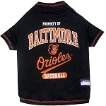 Baltimore Orioles Baseball Dog Shirt
