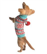 Peppermint Dog Sweater Hoodie