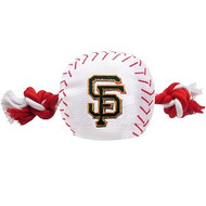 San Francisco Giants Baseball Rope Dog Toy