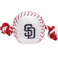San Diego Padres Baseball Rope Dog Toy