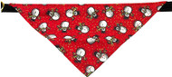 Snowman Bandana Dog Collar