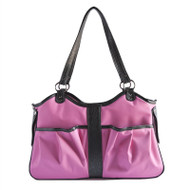 Pink and Brown Metro 2 Dog Bag