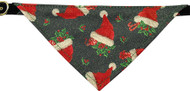 Santa Hat Bandana Dog Collar