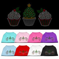 Christmas Cupcakes Dog T-Shirt