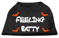 Feeling Batty Dog T-Shirt - Black