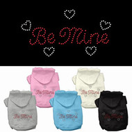 Be Mine Dog Hoodie