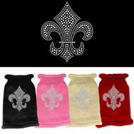 Fleur De Lis Rhinestone Sweater (Various Colors)