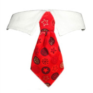 Noel Dog Tie Collar
