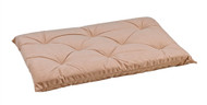 Almond Tufted Dog Cushion