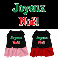 Joyeux Noel Dog Dress