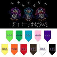 Let It Snow Dog Bandana