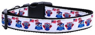 American Owls Dog Collar