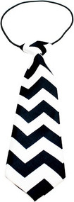 Chevron Dog Neck Tie-5 Colors