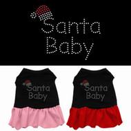 Santa Baby Dog Dress