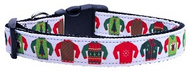 Ugly Sweater Dog Collar