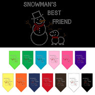 Snowman's Best Friend Dog Bandana