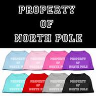 Property of North Pole Dog T-Shirt