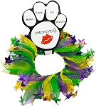 Mardi Gras Smoocher Decorative Dog Collar