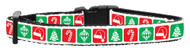 Timeless Christmas Dog Collar