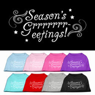 Season's Greetings Dog T-Shirt