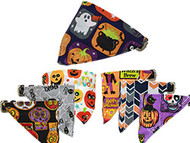Halloween Bandana Pet Collar