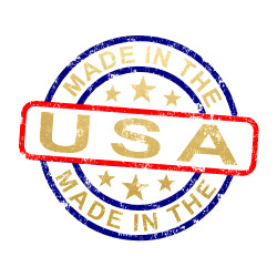 "'AMERICAN PRIDE' red, blue and metallic gold 2"" X 2"" made in the USA tattoos come in a pre-cut bundle set of 25 tattoos for quick and easy application. The perfect addition to 4th of July festivities!