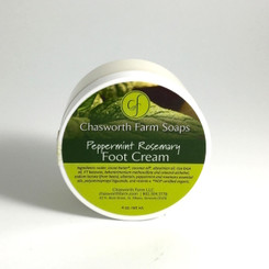 Peppermint Rosemary Foot Cream