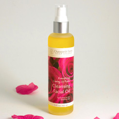 Everything's Coming Up Roses! Cleansing Facial Oil for sensitive skin.