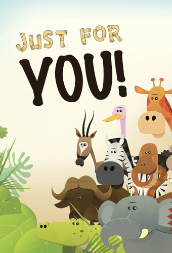Just For You Postcards - Pack of 25