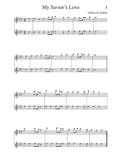 Songs & Hymns of Revival Orchestration: Flute, Oboe, Violin