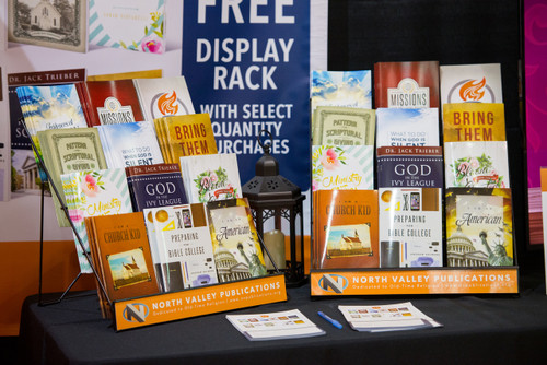 Booklet Rack Promotion - Receive a  FREE rack!