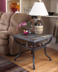 Antigo Square End Table