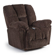 Lucas Chocolate Power Recliner