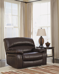 Damacio Chocolate Zero Wall Wide Seat Recliner