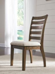 Flynnter Medium Brown Dining Upholstered Side Chair