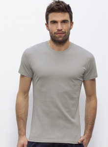 Round Neck Fitted Tee Opal