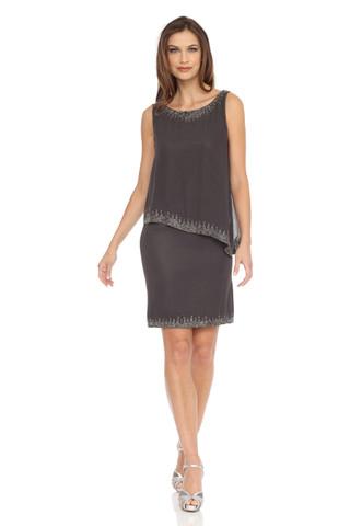 Embellished Popover Dress