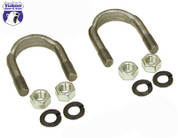 """1310 and 1330 U/Bolt kit (2 U-Bolts and 4 Nuts) for 9"""" Ford."""