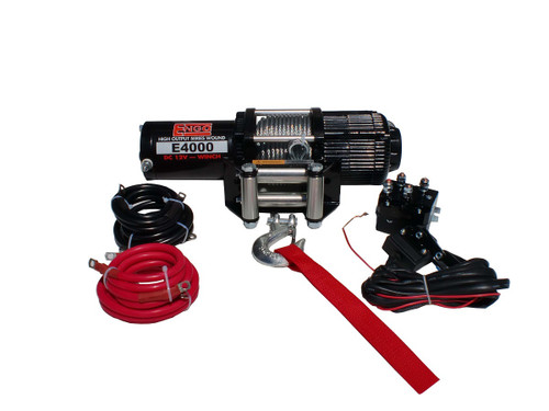 4,000 lbs. 12 Volt Electric Winch for ATV/UTV