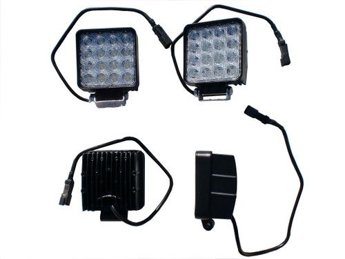 48 Watt Square (Spot) LED Work Light
