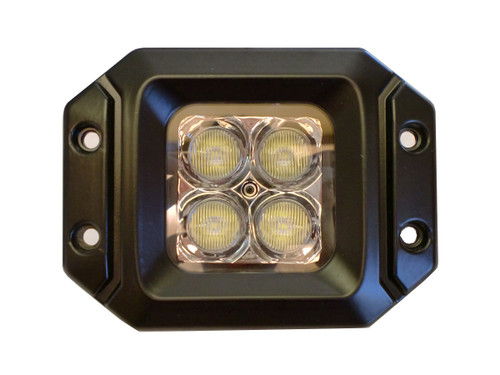 20 Watt LED Light Pair(Flange Mount) with Combo pattern(Cree)E2